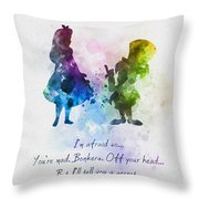 Have I Gone Mad? Throw Pillow