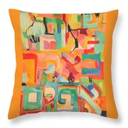 Have Patience Throw Pillow