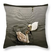 Have To Behave Yourself. Throw Pillow