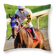 Have To Have Wings To Catch Us Today Throw Pillow