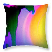 Have You Noticed The Shy Lady  Throw Pillow