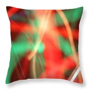 Have Yourself An Abstract Little Christmas Throw Pillow