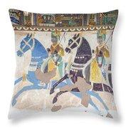 Haveli Art Throw Pillow