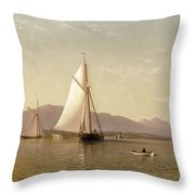 Haverstraw Bay Throw Pillow