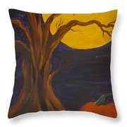 Havest Moon  Throw Pillow