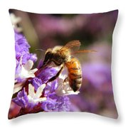 Having A Drink Throw Pillow