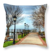 Havre De Grace Throw Pillow