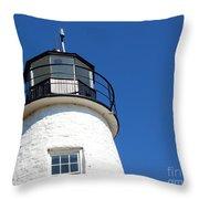 Havre De Grace Lighthouse 2 Throw Pillow