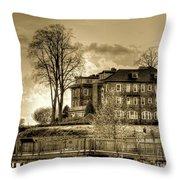 Havre De Grace Promenade Throw Pillow