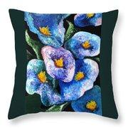 Hawaii Flowers Throw Pillow