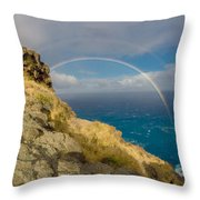 Hawaii Is My Favorite Color Throw Pillow
