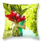 Hawaii Lifestyle Throw Pillow