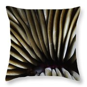 Hawaii Mushroom Coral Throw Pillow