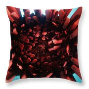 Hawaii Pencil Urchin Throw Pillow