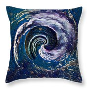 Hawaii Storm Not 6 Throw Pillow