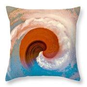 Hawaii Storm Not 4  Throw Pillow