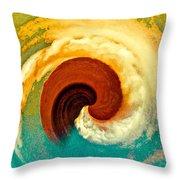 Hawaii Storm Not 5 Throw Pillow