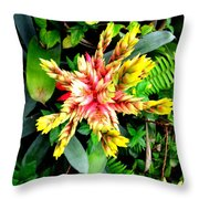 Hawaiian Beauty 3 Throw Pillow