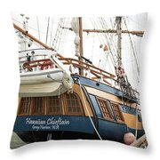 Hawaiian Chieftan Throw Pillow