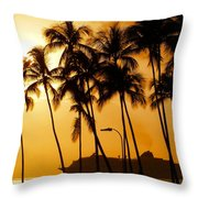Hawaiian  Cruise Throw Pillow