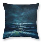 Hawaiian Enchanted Sea #431 Throw Pillow
