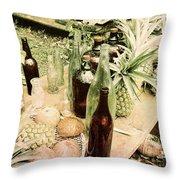 Hawaiian Feast  Throw Pillow