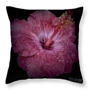 Hawaiian Hibiscus Throw Pillow