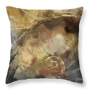 Hawaiian Sea Shell Throw Pillow