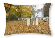 Hawke Meetinghouse - Danville New Hampshire Throw Pillow