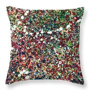 Hawkings No. 7 Throw Pillow