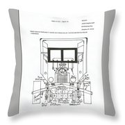 Hay String Recycler Throw Pillow