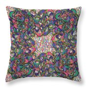 Hayat V4 Throw Pillow