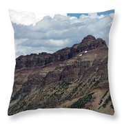 Hayden Peak Throw Pillow