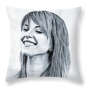 Hayley Williams. Throw Pillow