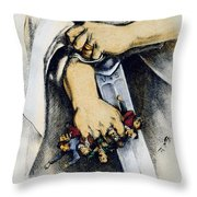 Haymarket Trial, 1886 Throw Pillow