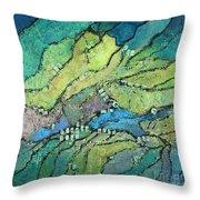 Haystack Mountain Throw Pillow