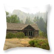 Hazy Days Of Summer Throw Pillow