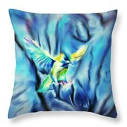 Hazy Dreams Throw Pillow