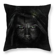 Hazy Shadows Throw Pillow
