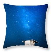 Hb Galaxy Throw Pillow