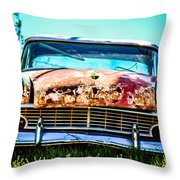 Hdr Car Throw Pillow