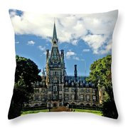 Hdr Fettes Throw Pillow