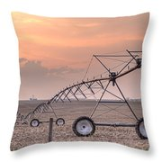 Hdr Sunset With Pivot Throw Pillow