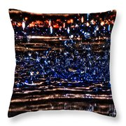 Hdr Water Dancer  Throw Pillow