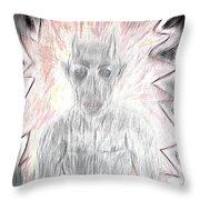 He Flame Throw Pillow
