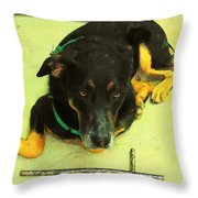 He Gets It  Throw Pillow