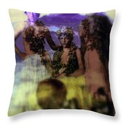 He Hohona Aeoia Throw Pillow