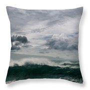He Inoa Wehi No Hookipa Throw Pillow