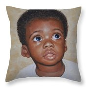 He Is Coming Throw Pillow