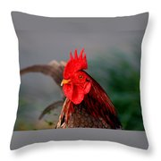 He Is The First In The Morning Throw Pillow